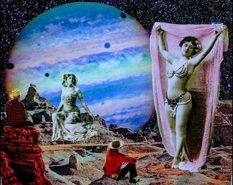 """Surreal Collage """"Tell Me I'm Pretty"""""""