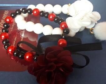 Red - Black Pretty Bracelet