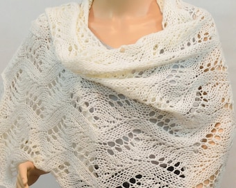 Lacy Shawl perfect for Bride, Mother of the Bride and more