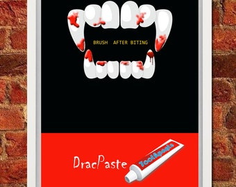 Advertising Poster idea Toothpaste