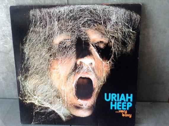 Uriah Heep 12 Inch Vinyl L P Very Eavy Very Etsy