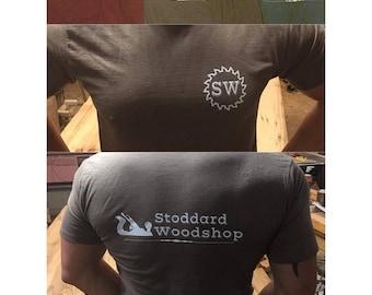 Stoddard Woodshop Heather T-Shirts