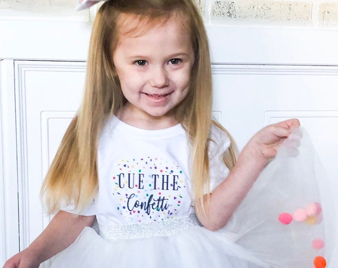 Toddler | Youth Cue the Confetti