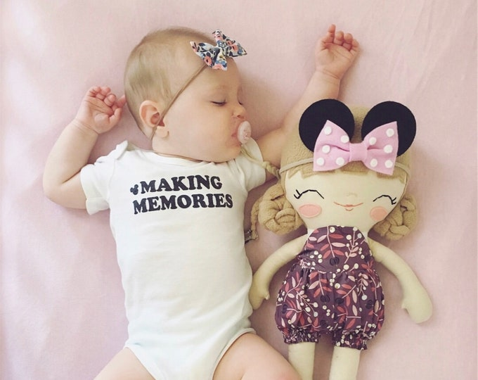 Making Memories Onesie