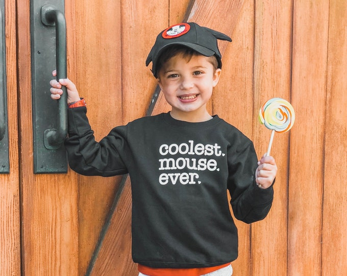 Coolest. Mouse. Ever Fleece Toddler | Youth