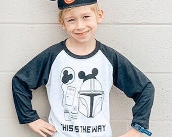 This is the way Youth Baseball Tee
