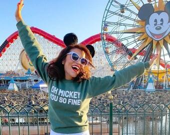 Oh Mickey Crewneck Sweatshirt