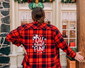 Oh What Fun Flannel