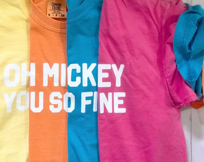 Spring Color Oh Mickey