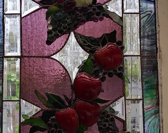 Stained Glass Grapes and More