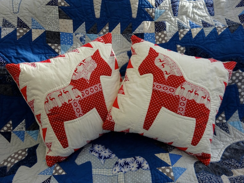 ERIK-THE-RED Patchwork pattern by  Ann F Stonehouse image 0