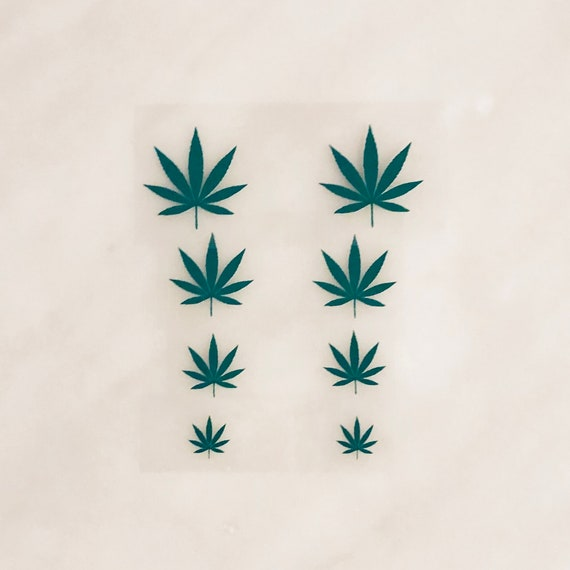 Iron On Weed Leaves Diy Weed Bra Marijuana Vinyl Decals Iron On Pasties 420 T Shirt Diy 420 Bra Decals