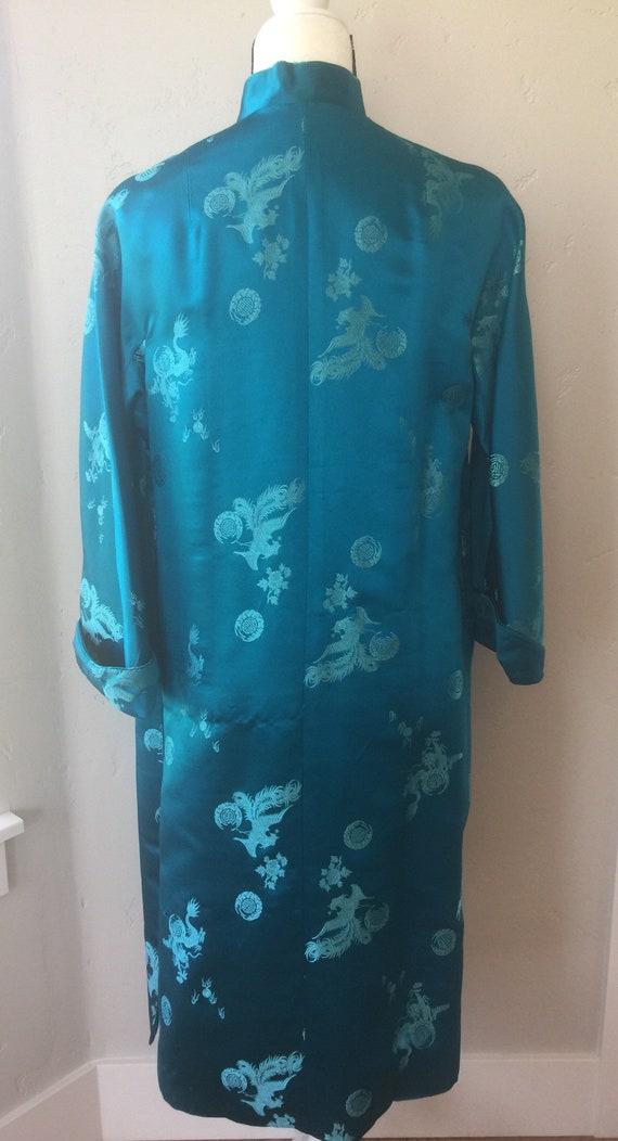 Vintage Silk Imperial Robe - image 2