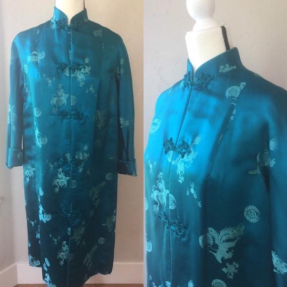 Vintage Silk Imperial Robe