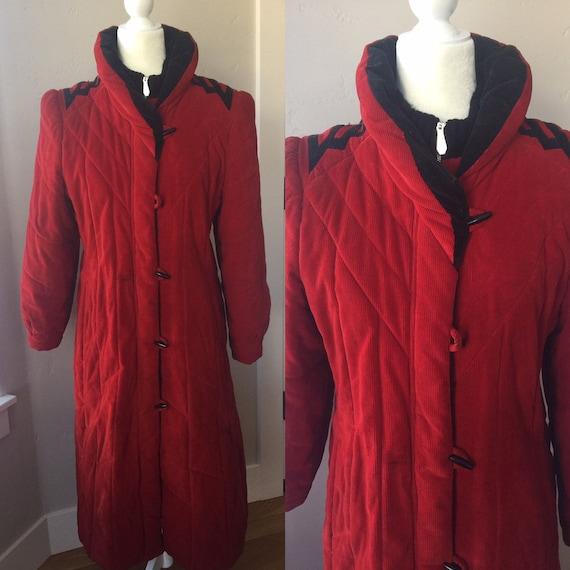 Mod Maid Corduroy Coat