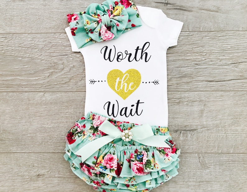 1d9196f51b982 Baby Girl Coming Home Outfit Coming Home Outfit Girl Newborn | Etsy