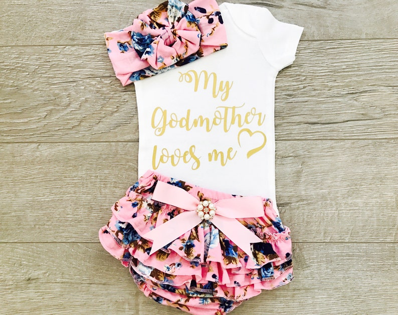 0b4a3ec73 Goddaughter Gifts Gift From Godmother My Godmother Loves Me   Etsy