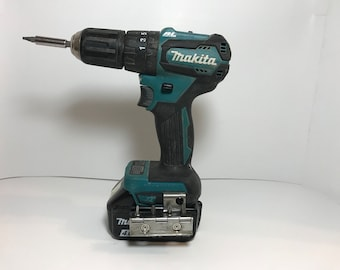 For Makita: Drill/Driver Bit Holder with Side Magnetic Storage Hinge
