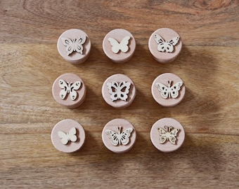 play dough accessories ornament reindeer candy stampers for dough wood stamps CHRISTMAS play dough stamps large wooden stampers