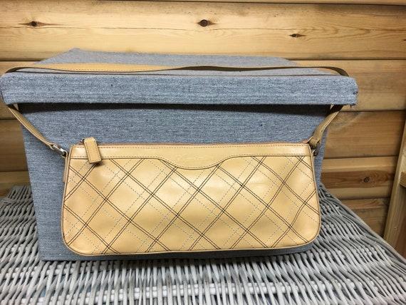 Aquscutum Handbag Vintage Late 1990s