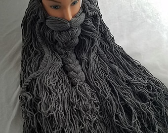 cb265b1155e Adult Size Gray Costume Beard