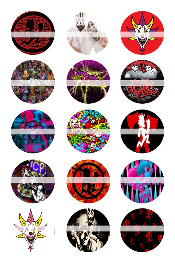 icp 1 inch circles bottle cap circles image template collage sheet