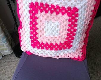 Handmade crochet cushion covers
