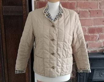 Vintage c 1990s Italian Knitted Cardigan Jacket UK 1214
