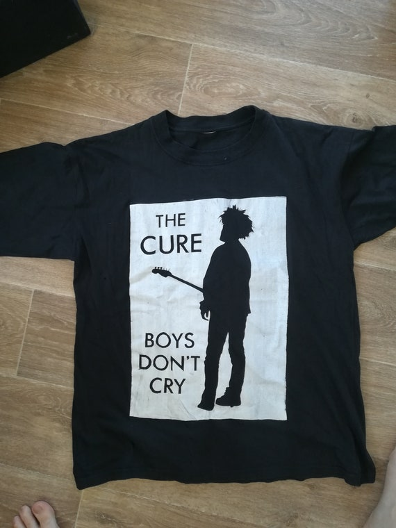 Vintage Bootleg The Cure Shirt Large  Robert Smith