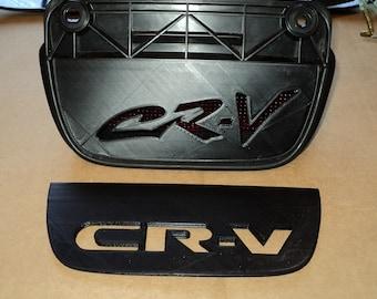 Graffiti or Block Style 3rd Brake Light Cover For Honda CRV 1997-2001