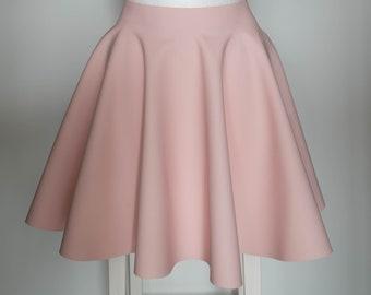 Mat Latex skater Skirt plate skirt Latexskirt custom colour