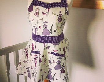 Glamour ladies retro apron