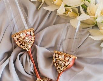 Luxury Wedding Glasses