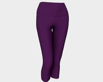 Passionate Purple Yoga Capri