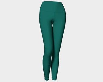 Sea Foam Green Yoga Leggings