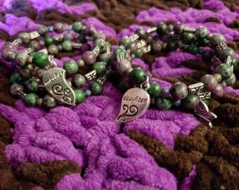 Mother daughter bracelet