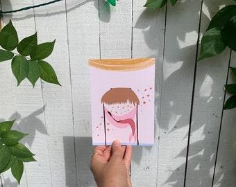 Mini Art Print | Sirena