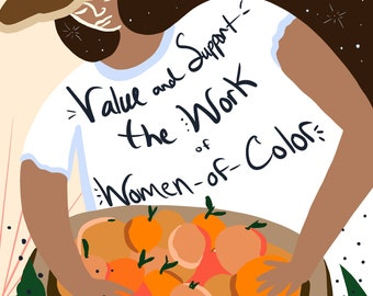 Art Print | Value and Support Women of Color