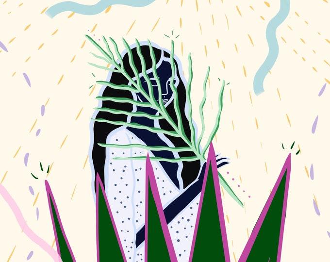 Featured listing image: Art Print: Self