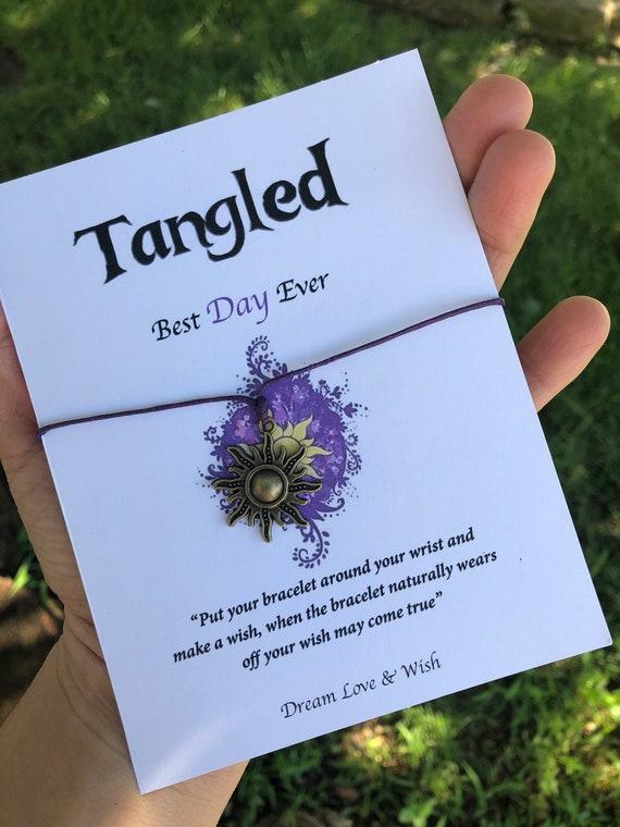 rapunzel wish bracelet tangled Best Day Ever bracelet Wish bracelet friendship