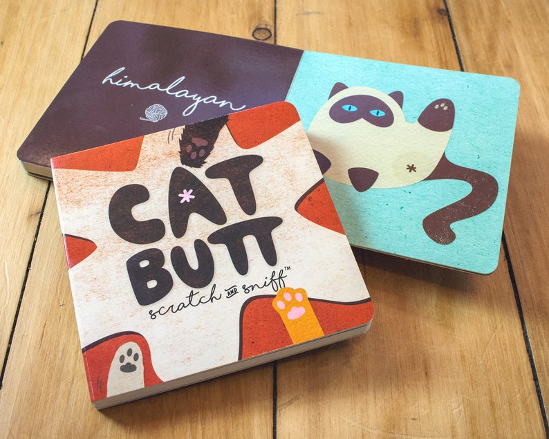 Cat Butt Scratch and Sniff Board Book image 0