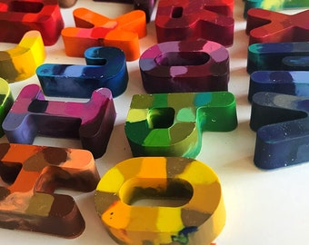 A to Z: Alphabet Crayon Set