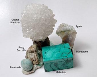 PURE TREASURE Crystal Landscape - Sacred Space - Crystals - Woodland Wonders
