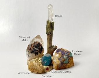 LIGHT BEARER Crystal Landscape - Sacred Space - Crystals - Woodland Wonders