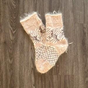 Exclusive knitted knee socks Djuraby