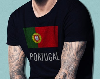 MADE IN CANADA WITH PORTUGUESE PORTUGUAL PARTS BODYSUIT FLAG SHIRT PROUD TO BE