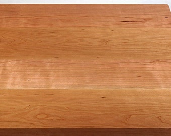 """Solid Cherry Tabletop 24""""x 48""""x 1-3/4"""" Thick"""