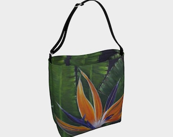 Bird of Paradise Day Tote Bag