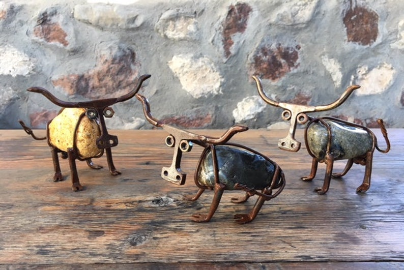 f6f3073a Longhorn/ Longhorn Decor/ Ranch/ Unique Gifts/ Texas Longhorn/ Ranch Gifts/  Cow/ Longhorn Gifts/ Bull / Home Office Decor / Rust