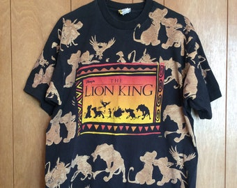 Vintage 90s The Lion King Tshirt